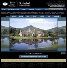 VCP Sotheby's International Realty - www.VermontCountryProperties.com